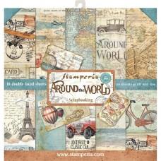 Stamperia 12x12 Around The World