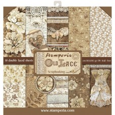 Stamperia 12x12 Old Lace