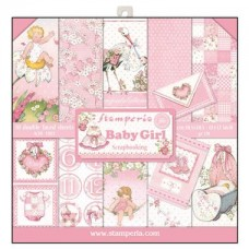 Stamperia 12x12 Baby Girl