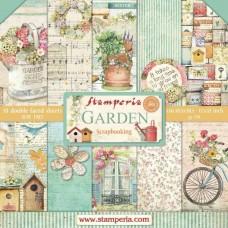 Stamperia 12x12  Garden