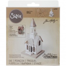 "Sizzix Bigz Die By Tim Holtz 5.5""X6"" Village Bell Tower"