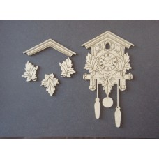 Dusty Attic Cuckoo Clock