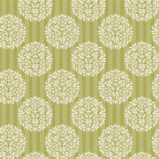 Tilda Apple Bloom: Flower Ball, Olive: Fat Quarter