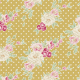 Tilda Apple Bloom: Cybill, Tan Yellow : Fat Quarter