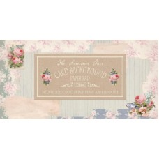 Tilda Card Background Summer - 12X6