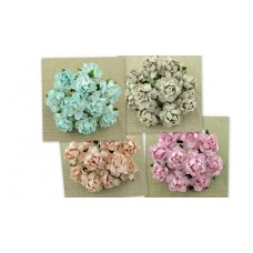 WOC - Cottage Roses 25mm - 20pc