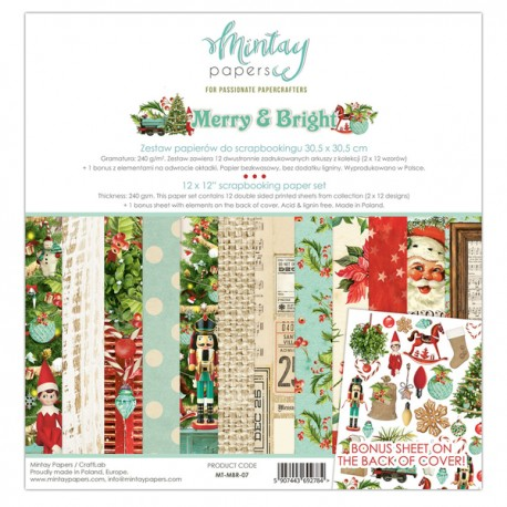 Mintay Papers Merry & Bright 12x12