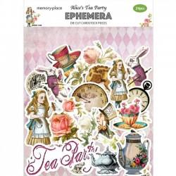 Alice's Tea Party Ephemera
