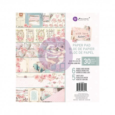 With Love Collection 8x8 Paper Pad