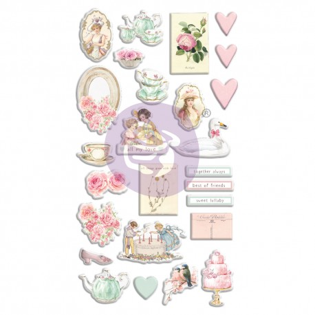 With Love Collection Puffy Stickers