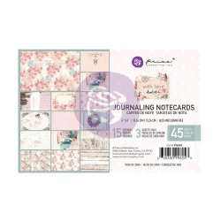 With Love Collection 4X6 Journaling Cards