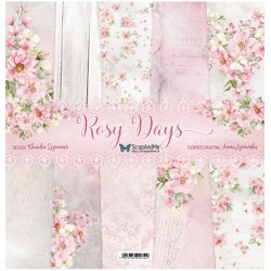 ScrapAndMe Rosy Days Collection 12x12