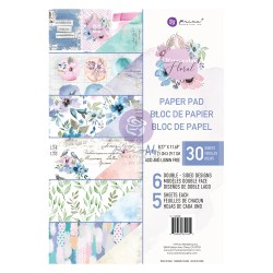 Watercolor Floral Collection A4 Paper Pad
