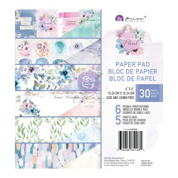 Watercolor Floral Collection 6x6 Paper Pad