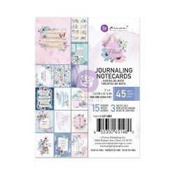 Watercolor Floral Collection 3X4 Journaling Cards