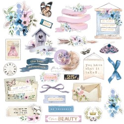 Watercolor Floral Collection Ephemera