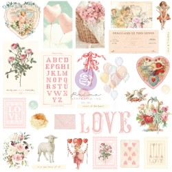 Magic Love Collection Ephemera - 29 pcs