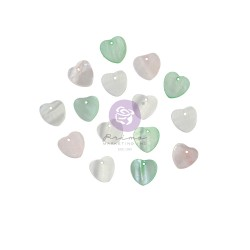 Magic Love Collection Pearl Hearts - 15 pcs