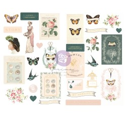 My Sweet Collection Chipboard Stickers - 31 pcs