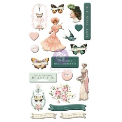 My Sweet Collection Puffy Stickers - 20 pcs