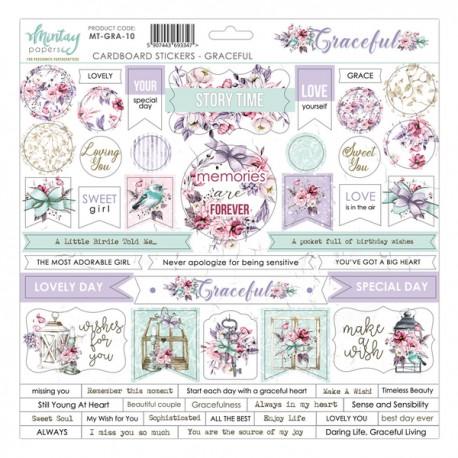 Mintay Graceful Cardboard Stickers