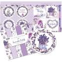 """The Paper Boutique Paper Kit 8""""X8"""" - Lavender Fields"""