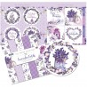 "The Paper Boutique Paper Kit 8""X8"" - Lavender Fields"