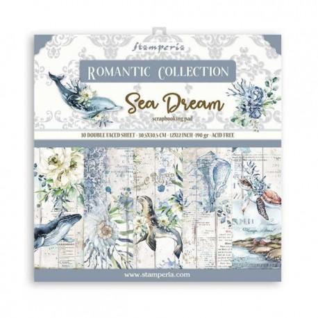 Stamperia Romantic Sea Dream12x12