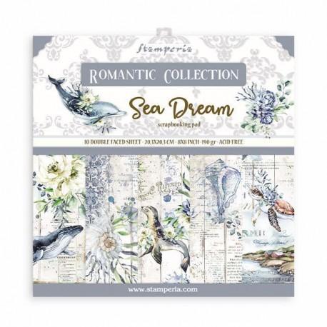 Stamperia Romantic Sea Dream 8x8