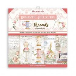 Stamperia Romantic Threads 12x12