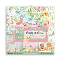 Stamperia Circle of Love 12x12 - Maxi Pad - 22 pages