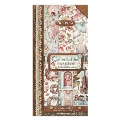 """Stamperia Collectables 10 sheets cm 15x30,5 (6""""x12"""") Passion"""