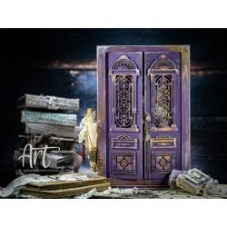 ANCIENT DOOR WARDROBE MODEL - ANTIQUE DOOR - 3D MODEL