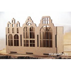 TENEMENT HOUSE ORGANIZER - SMALL TRIPLE MODULE