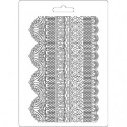 Stamperia Soft Mould A5 - Laces