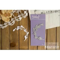 "Fantasy ""Cat branch"" Size 6.5x1.5 cm"
