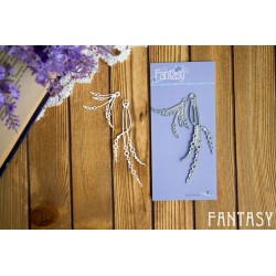 """Fantasy """"Pearl threads and stamens for flowers 2"""" size 8.5 * 3 cm and 3.7 * 4 cm"""