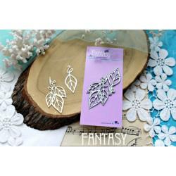 "Fantasy ""Skeletonized leaves"" size 6 * 3 cm 4.5 * 1.8cm"