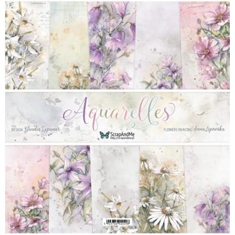 ScrapAndMe Aquarelles Collection 12x12