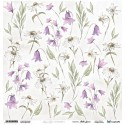 Scrapandme Aquarelles Flowers 1 - Cutting Sheet