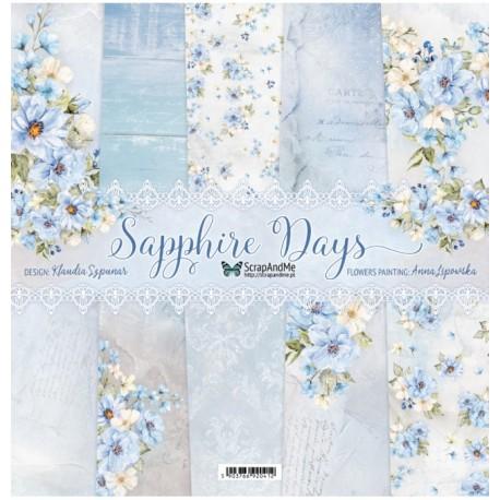 ScrapAndMe Sapphire Days Collection 12x12