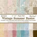 Maja Design Vintage Summer Basics - Paper Pack 6x6