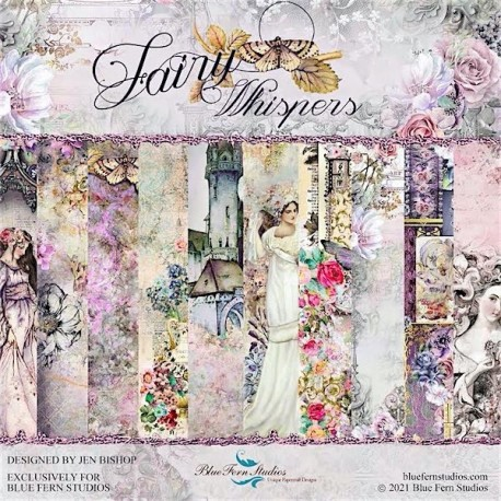 Fairy Whispers - Set 12x12 Papers