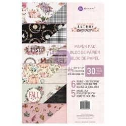 HELLO PINK AUTUMN COLLECTION A4 PAPER PAD – 30 SHEETS