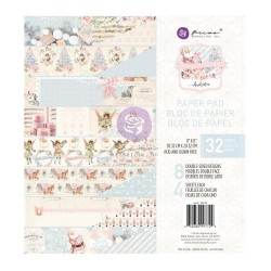 CHRISTMAS SPARKLE COLLECTION 8×8 PAPER PAD – 32 SHEETS