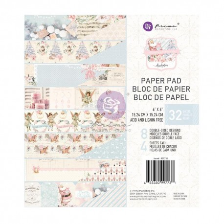 CHRISTMAS SPARKLE COLLECTION 6×6 PAPER PAD – 32 SHEETS