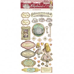 STAMPERIA ALICE CHIPBOARD