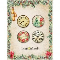 Lemoncraft Yuletide Buttons / Badges