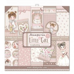 Stamperia Little Girl 12x12