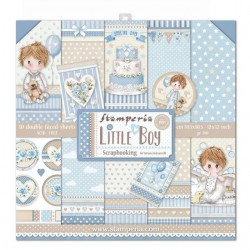 Stamperia Little Boy 12x12